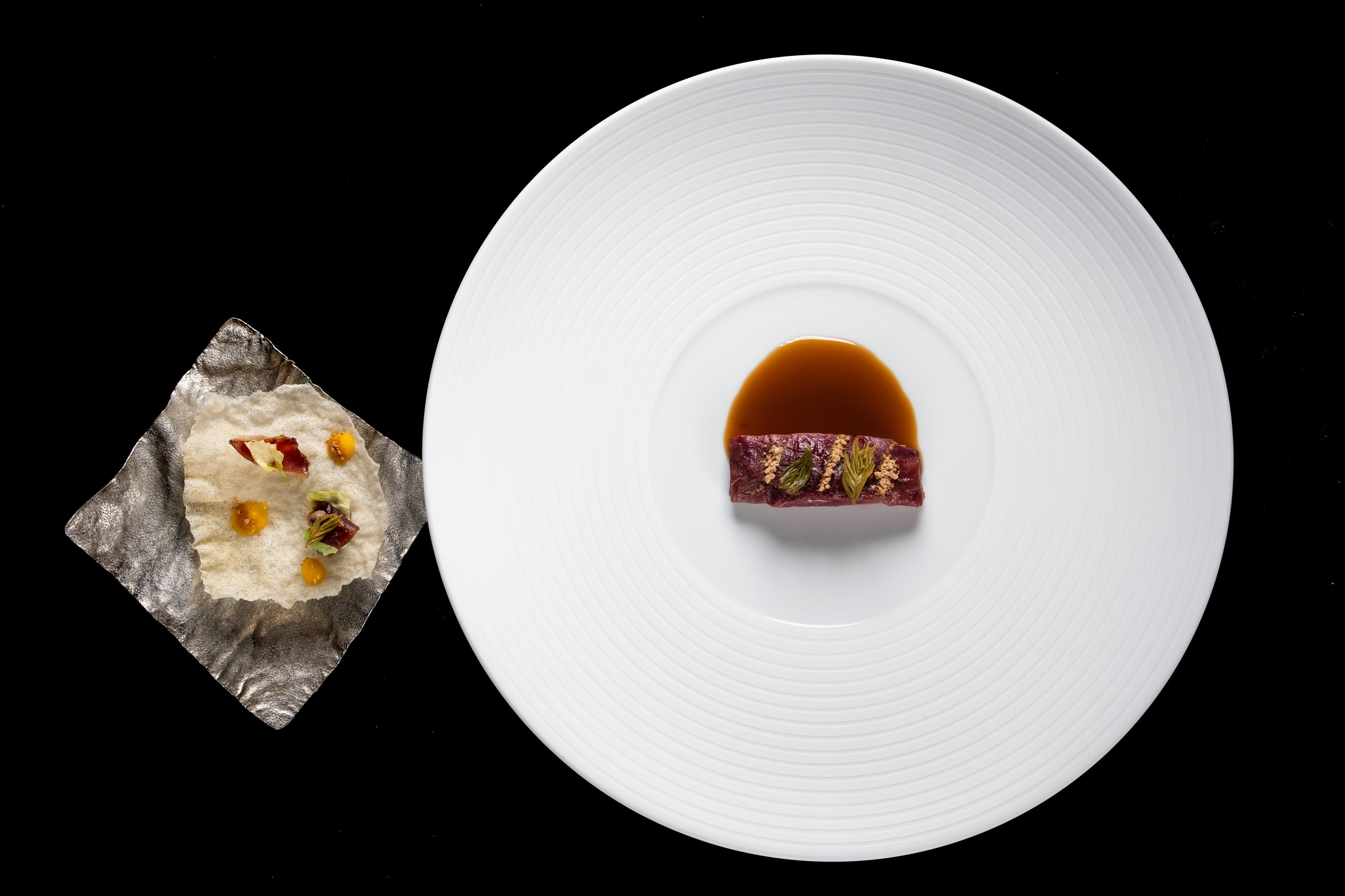 Notte sulla vetta Valentino Cassanelli piatto plate ricetta